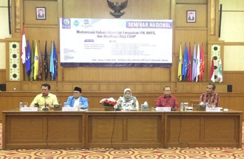 HISSI Bersama FSH Menyelenggarakan Seminar Nasional Tentang Modernisasi Hukum Islam